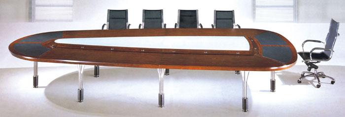 实木会议桌[hyt-4]香河办公家具-香河办公家具厂